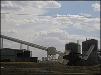 Coal mine in Wyoming
