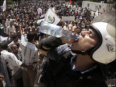 Палестинская демонстрация