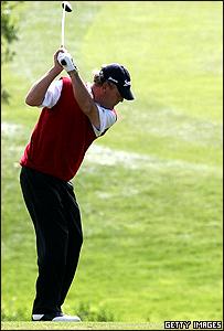 Jugador de golf.
