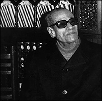 Egyptian novelist Naguib Mahfouz