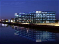 An artist's impression of Pacific Quay