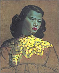 Chinese Girl - picture courtesy of Felix Rosenstiel's Widow & Son Ltd, London