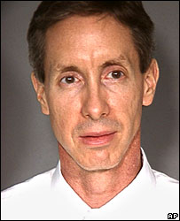 Picture of Warren Jeffs taken after his arrest by Las Vegas Metropolitan Police Department