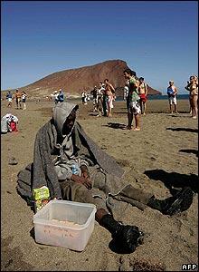 La Tejita beach, Tenerife