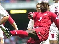 Former Wales striker Nathan Blake