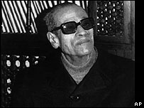File photo of Naguib Mahfouz