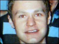 Attack victim Adam Brisley