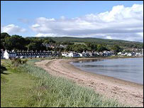 Lamlash. Picture courtesy of Undiscovered Scotland