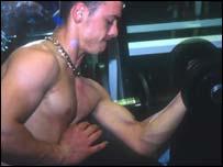 Image of a bodybuilder