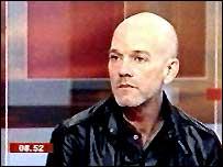 R.E.M's Michael Stipe