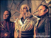 Aliens in Star Trek - image courtesy STARTREK.COM