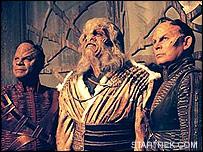 Aliens in Star Trek - image courtesy STARTREK.COM