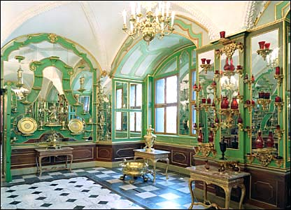 The Gilt Silver room, Dresden State Art Collections.