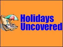 Holidays Uncovered website