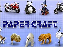 Papercraft website