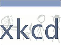 XKCD website