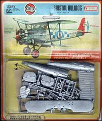 Airfix kit of Bristol Bulldog
