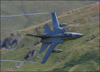 Rory Trappe sent in this fantastic picture of a Tornado at the foot of Cader Idris