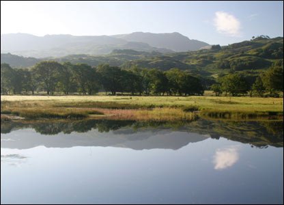 Bruce Johnston from Monmouth took this shot of a lake near Beddgelert in Snowdonia while on holiday