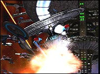 Ships from Star Trek: Hidden Frontier