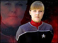 Star Trek: Hidden Frontier actress Risha Denney
