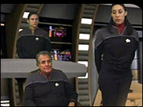 Scene from Star Trek: Hidden Frontier