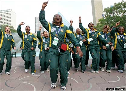 South Africa's national women's rugby team