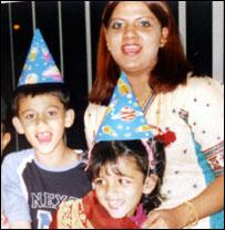 Adam Arshad, Henna Arshad and Uzma Arshad. Pic courtesy of GMP