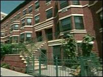 A new housing development in Harlem