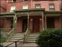 Houses on Astor Row, Harlem