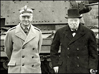 General Wladyslaw Sikorski and British Prime Minister Winston Churchill