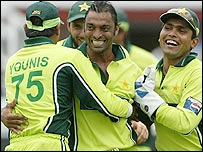 Shoaib Akhtar was too hot for England to handle in helpful conditions