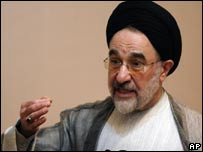 Mohammad Khatami was Iranian president from 1997 to 2005