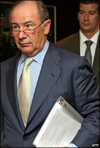 Rodrigo Rato, director gerente del Fondo Monetario Internacional