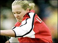 Arsenal's Jayne Ludlow