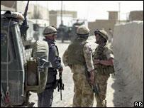 Nato servicemen