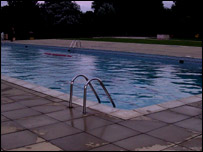 Daventry outdoor pool