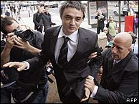 Pete Doherty arrives at Thames Magistrates Court
