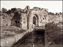 Kashmir Gate in Delhi