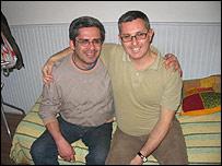 Oscar Benítez (izquierda) y Alejandro Soria
