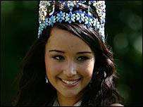 Miss World, Unnur Birna Vilhjalmsdottir of Iceland