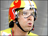 David Millar contests the 2006 Tour de France