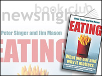 Composite image: Eating by Peter Singer and Jim Mason