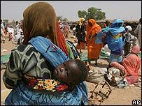 Al-Geneina, al oeste de Darfur.