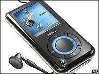 SanDisk Sansa e280 audio player