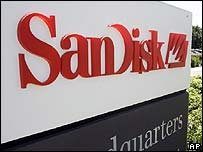 SanDisk HQ in California