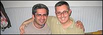 Oscar Benítez  y Alejandro Soria, la primera pareja gay en casarse en Latinoamérica