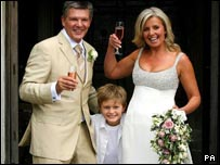 Russ Lindsay and Sally Meen with his son Gabriel