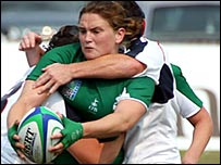 Ireland full-back Joanne O'Sullivan
