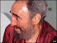 Fidel Castro in hospital